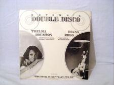 MOTOWN DOUBLE DISCO THELMA HOUSTON-DIANA ROSS SEALED LP