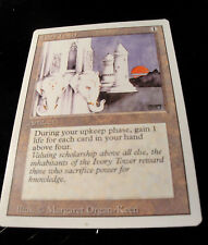 Magic the Gathering MtG Revised Edition Ivory Tower Excellent Condition
