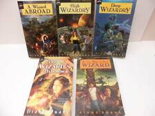 Lot 5 WIZARDS Diane Duane WIZARDRY Abroad Dilemma  Deep High Nice Set