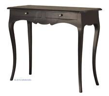 Consola de madera, mueble de recibidor,consola lacada color negro estilo clásico