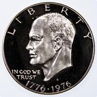 1976-S Eisenhower Dollar Gem Proof Type 1 Bicentenial Redesign 20 coin roll