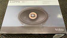 "Infinity Kappa 86CFX AM 6"" x 8"" 2-Way COAXIAL Car Speaker 300W Peak Power Harman"