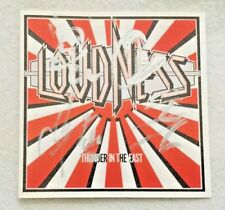 """Autographed Loudness """"Thunder In The East"""" CD Munetaka Higuchi (R.I.P.)"""