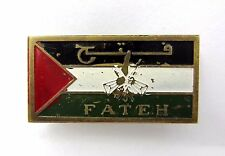 Fatah Palestinine  Liberation Movement AL FATEH Jewish Arab Conflict Pin Badge