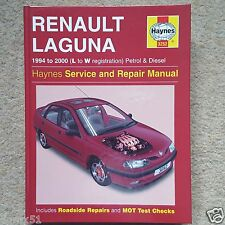 Haynes Manual Renault Laguna 1994 to 2000 (L to W reg) Good Condition