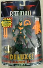 HASBRO BATMAN BEYOND DELUXE NEON CAMO BATMAN ACTION FIGURE DC COMICS