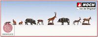 N escala 1:160 figuras modelismo maqueta trenes Noch 36745 animales del bosque