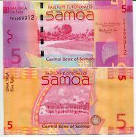 WESTERN SAMOA 5 TALA 2012 P 38 b UNC