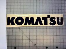 New listing 1-Komatsu Forklift Vinyl Decal Sticker Navy