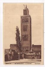 marrakech , la koutoubia  -