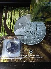CANADIAN 2013 $20 - .9999 SILVER - WOLF