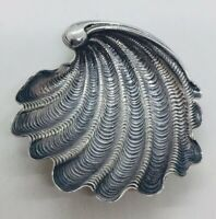 Gianmaria Buccellati Italy Vintage Sterling Silver Shell Dish