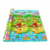 Baby Play Mat Crawling Tummy Time Educational Alphabet Game Animals Kids Rugs