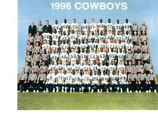 1996 DALLAS COWBOYS 8X10 TEAM PHOTO  NFL USA  FOOTBALL TEXAS