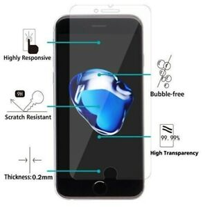 Genuine Gorilla Tempered Glass Screen Protector for iPhone 8 7 Plus SE 5S C 6 6S