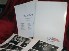 'Topsy-Turvy' Complete Original Press Kit - 4 Photos/10 Slides -