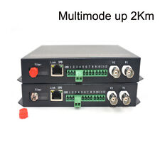 Multimode up 2Km - Video/Ethernet/RS485 Data Fiber optic media converters