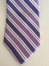 Arrow Men's Necktie Color Purple Striped NWT