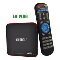 MECOOL M8S PRO W Android 7.1 TV Box 4k H.265 2.4GHz WiFi Quad Core 16G EU PLUG