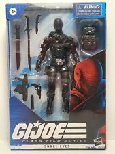 Hasbro G.I. Joe Classified Series Snake Eyes Action Figure 02 NEW