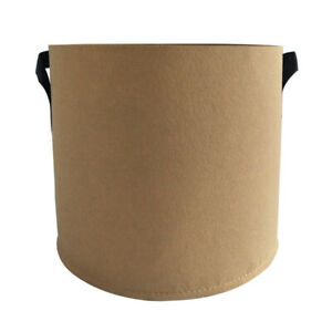 5-30 Gallon Round Fabric Grow Pots Breathable Plant Bag Smart Plant With Handle
