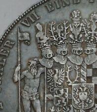 SCC Schwarzburg-Sondershausen 2 Thaler 1854A. KM#140. .900 Silver. 3-1/2 Gulden