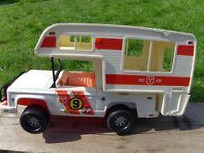 Vintage 1974 Mattel Big Jim Jeep Baja Beast 7370 Caravan Motorhome Toy Car Beast