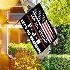 Внешний вид - 3x5Ft Let's Go Brandon Flag 2021 FJB Funny Anti Joe Biden House Garden Yard Flag