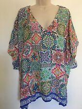 nanette lepore tunic cover up swimming dress, size Medium