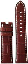 22x20 XL RIOS1931 for Panatime Mahogany Alligator Watch Strap For Panerai Deploy
