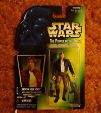 Star Wars POTF Bespin Han Solo w/ Heavy Assault Rifle & Blaster Kenner 1997