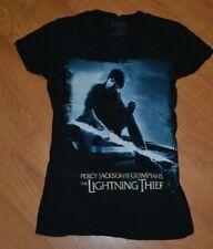 Womens Girls Percy Jackson Olympians The Lightning Thief Movie T Shirt Small