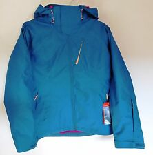 The North Face Women's CHEAKAMUS TRICLIMATE Ski Snowboarding Jacket Teal Green M