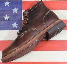 Thorogood 1892 BELOIT Brown Horween Leather CXL Soft Toe Wedge Boot [814-4532] 9