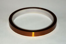 6 mm x 30 m Polyimide Hitzebeständiges Klebeband Tape,Kapton 3D Drucker Makerbot