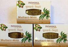 Patanjali Multani-Mitti Body Cleanser - 75g X 3 Pack ---US Seller
