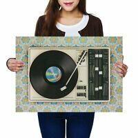 A2 - Retro Old Vinyl Record Player Music Poster 59.4X42cm280gsm #24109