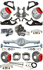 """NEW 2"""" DROP SUSPENSION & WILWOOD BRAKE SET,CURRIE REAR END,ARMS,POSI GEAR,687472"""