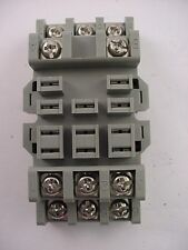 Square D Type NR82B Front Wired Relay Socket Class 8501 Series B  NR-82