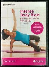 Stott Pilates Merrithew Body Blast Interval training 3 Dvd New