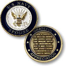 U.S. Navy Reserve / Navy Reserve Spouse - USN Mini Challenge Coin