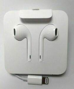 Genuine Apple iPhone 11 Pro Max XS XR 8 7 Lightning EarPods Headphones EarPhones