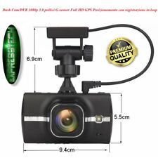 Dash Cam/Dvr auto - Full HD 1080p - 3.0 pollici - G-sensor - WI-FI - GPS con reg