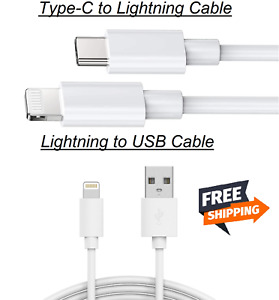 Genuine Type C to iPhone Fast Charger Cable For Apple iPhone 12 PRO MAX 11 X UK