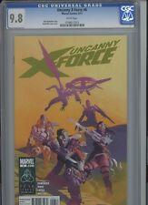 Uncanny X Force 6 CGC 9.8 Rick Remender Marvel