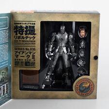 Kaiyodo Revoltech 035 Iron Man Silver Mark III 3 Marvel Figure Toy Model Doll