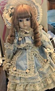 "'87 Gorham Charlotte Precious as Pearls 19"" Musical Dolls 732/2500"