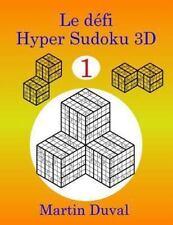 Le Defi Hyper Sudoku 3D V 1 (2013, Paperback)