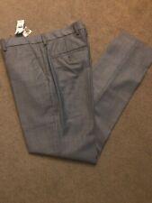 BNWT new Men's Express Suit Pants 28 X 32 Grey Orig Price $128