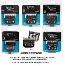 MASTER GROOMING HLD(Hard Like Diamond)A5 Blade*Fit Most Andis,Oster,Wahl Clipper